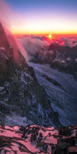 Chamonix ist der perfekte Ort für das Sichtungscamp - Gletschereis & Granit, und davon reichlich. Foto: Silvan Metz