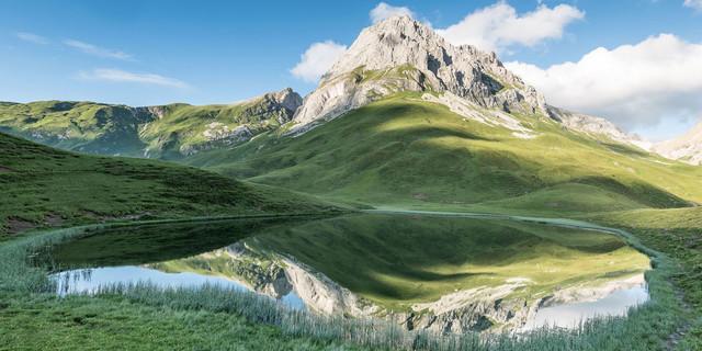 Der Alpsee oberhalb der Ravensburger Hütte, Foto: Thomas Eder