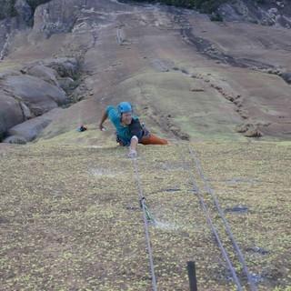 Schwierigkeiten bis in den 10. Grad beim Klettern in Madagaskar, Foto: Tobi Wolf