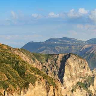 Panorama-Blick auf Vulcano.