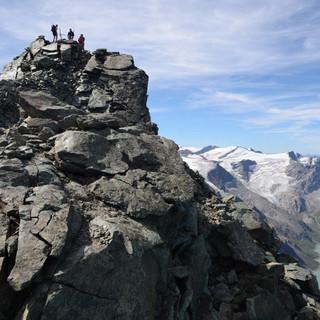 Gipfel des Hohen Tenn - Finaler Höhepunkt: auf dem Gipfel des Hohen Tenn über dem Mooserbodensee