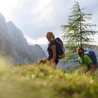 Im Aufstieg zur Blaueishütte (Foto: Wolfgang Ehn)