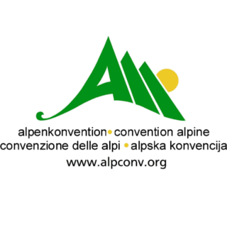 Logo Alpenkonvention