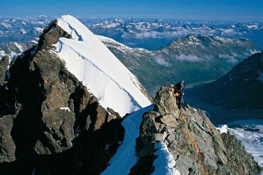 Roseg-Gipfel. Foto: Ralf Gantzhorn