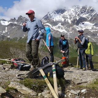 Aus liebe zum Trail - Arbeitseinsatz mit Mountainbikern und Wegewarten - Benjamin Trotter