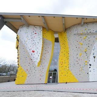 Das DAV-Kletterzentrum München Nord