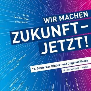 Plakat zum Jugendhilfetag 2021, Foto: agj