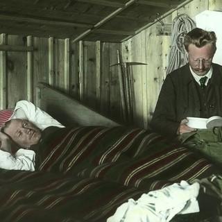 Nachtruhe in der Amberger Hütte. Archiv des DAV, München