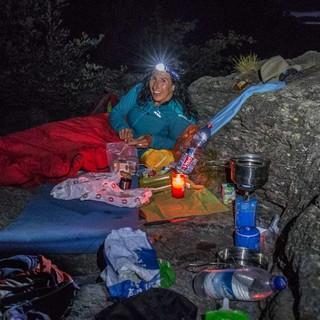 Biwakausrüstung macht den Rucksack etwas schwerer, erlaubt aber besondere Erlebnisse. Foto: Stefan Neuhauser