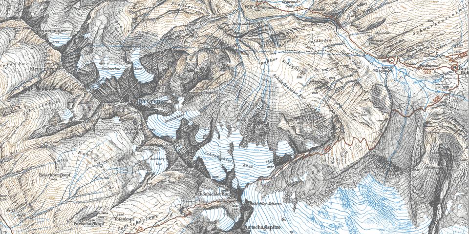 Kartenausschnitt 1975