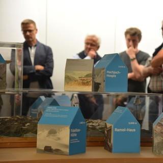 """Eröffnung der Ausstellung """"Hoch hinaus!"""" in Sölden"""