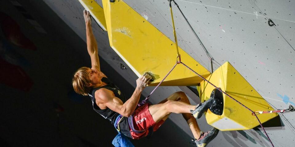 Als Mitglied im DOSB unterstützt der DAV Kletterstars wie Alex Megos. Foto: DAV/Jorgos Megos