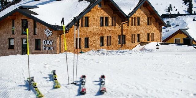 Skifahren in Obertauern; Foto: DAV/Marco Kost