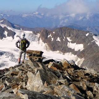 Beobachtung des Gletscherrückgangs, Foto: D. Siegrist