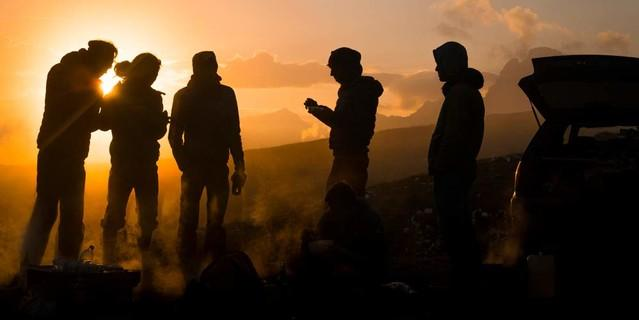 DAV-Expedkader: Alpinklettern in den Dolomiten