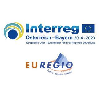 Logos INTERREG und EUREGIO