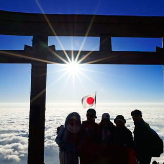 Gipfelbild am Fuji. Foto: Norbert Eisele-Hein