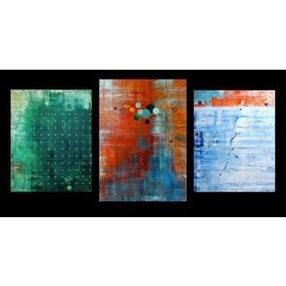 "Julius Kerscher, Triptychon ""Mythos des Sisyphos"", 2013"