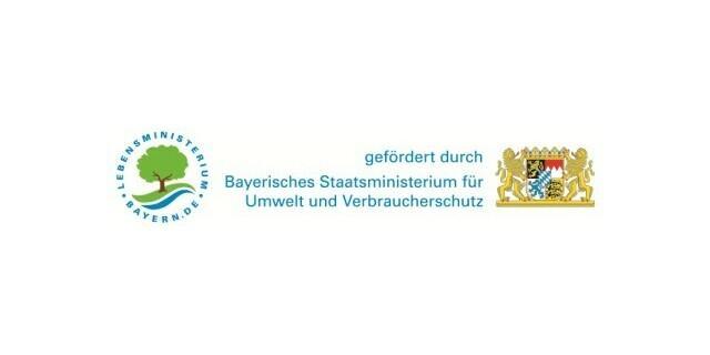 Logo StMUV Förderung