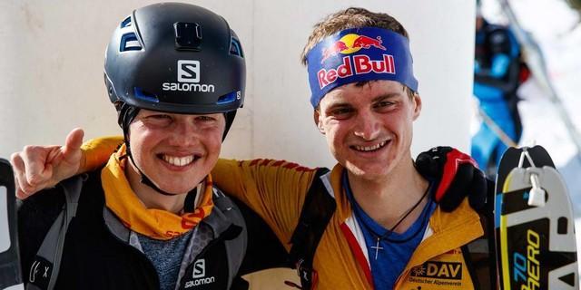 Die zwei erst Platzierten beim Individual Race - Toni Palzer und Philipp Reiter. Foto: Marco Kost