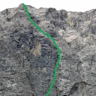 Routen an der Grubenkarspitze, Foto: Christian Rauch