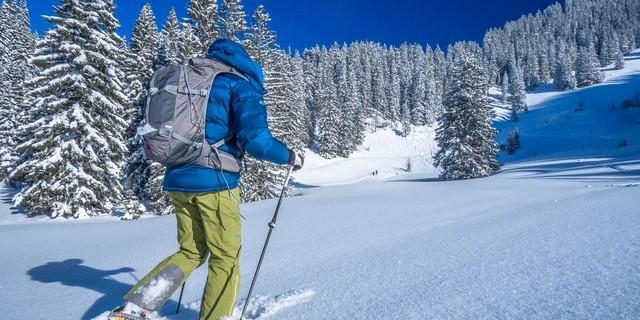 Leise durch die Winterwelt, Foto: DAV/Silvan Metz