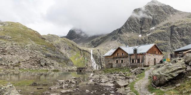 Die Winnebachseehütte der Sektion Hof - seit 2016 mit dem Umweltgütesiegel ausgezeichnet! Foto: DAV-Archiv