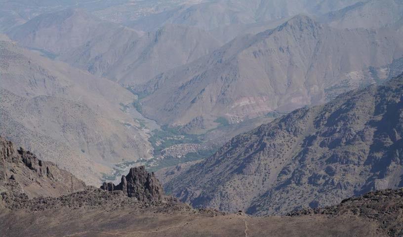 Abstieg vom Djebel Toubkal - Wo eine Idee ist, ist ein Weg: die alternative Abstiegsroute vom Djebel Toubkal