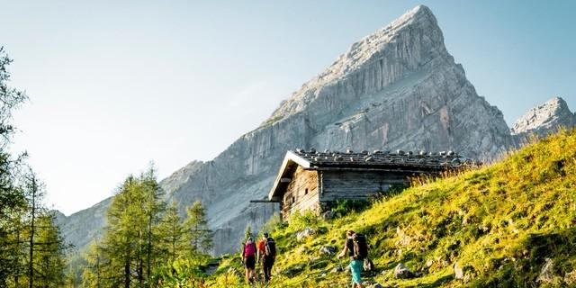 Wandern, Foto: DAV/Hans Herbig