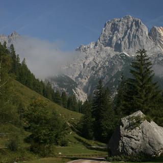 Bei unsicherem Wetter sind Talwanderungen wir hier im Klausbachtal eine gute Alternative. Foto: M. Pröttel