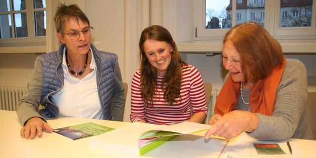 Ulrike Seifert, Sunnyi Mews und Lotte Pichler (v. l. n. r.), Foto: DAV/Christine Frühholz