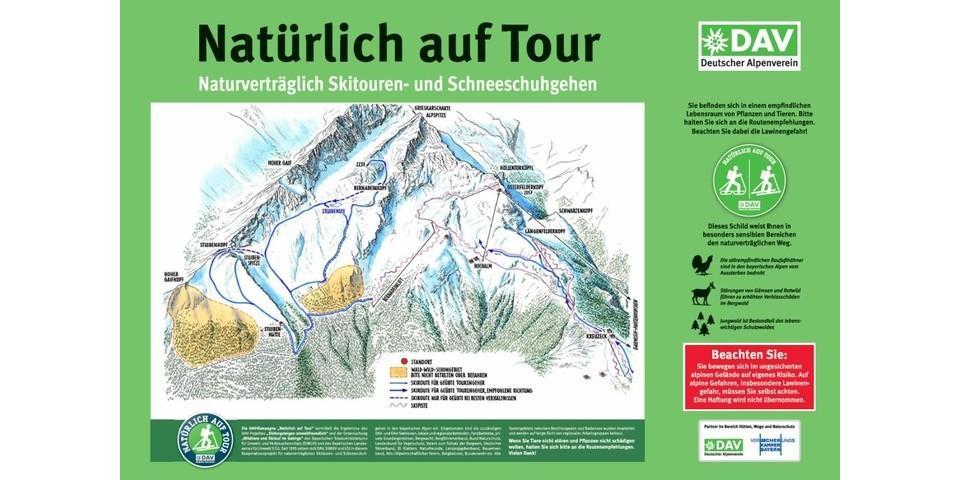 Tourengebiet Alpspitze
