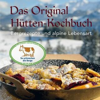 """""""Hüttenkochbuch""""-Buch-Cover"""