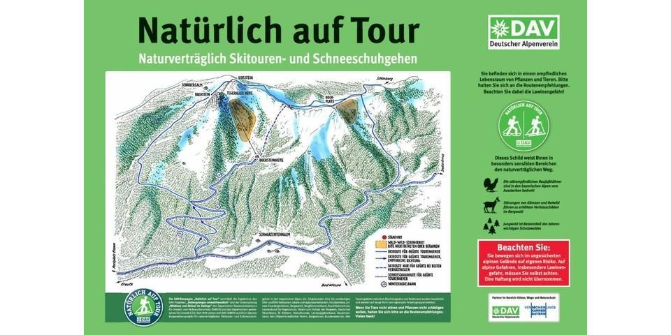 Tourengebiet rund um Roß- und Buchstein