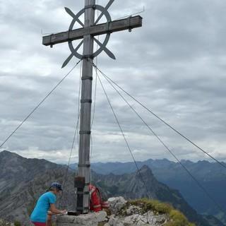 Letzte Höhepunkte: Gamsfreiheit und Hoher Fraßen sind die letzten Gipfel am Weg&#x3B; viele neue Ziele sind in Sicht. Foto: Stefan Herbke