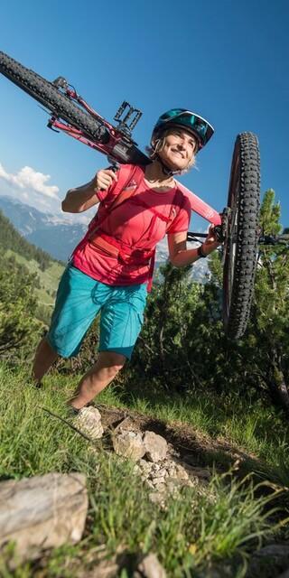 Wer die 10 Tipps beachtet, hat mehr Freude beim Biken, Foto: DAV/Christian Pfanzelt