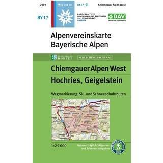 3. Auflage der Bayerischen Alpenvereinskarte BY17: Sonderedition für die Bergsteigerdörfer Schleching und Sachrang.