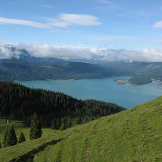 Ausblick auf den Walchensee, Foto: DAV/Georg Hohenester