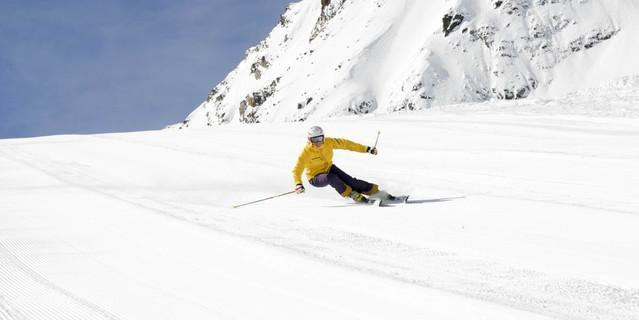 Populär: alpines Skifahren. Foto: DAV/Christian Vogg