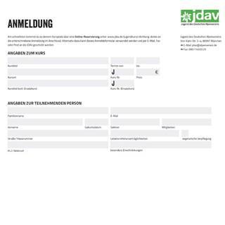 Teaserbild-Anmeldung-JDAV-Jugendkurse