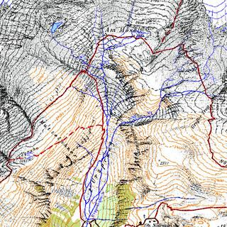 Zillertal-West AV Karte-Hydrologie-1