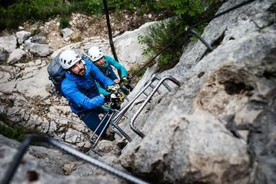 Klettersteigset Camp : Klettersteigsets oliunìd