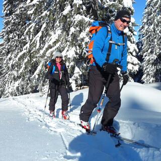 Skitouren liegen im Trend. Foto: DAV/Thomas Bucher