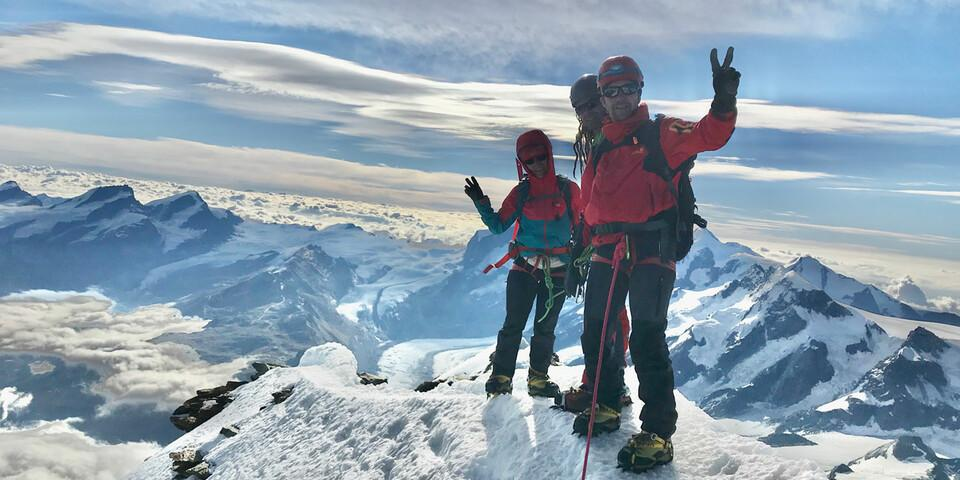 Auf dem Gipfel des Matterhorns, Foto: privat
