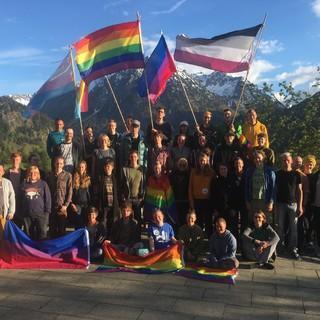 Queerfeldein auf der Terrasse der Jubi, Foto: JDAV/Andrea Scheu