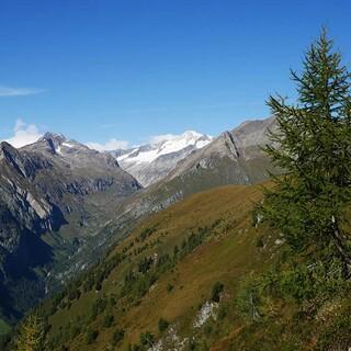 Panorama oberhalb des Virgentals mit Blick auf den Großvenediger, Foto: Jonas Kassner