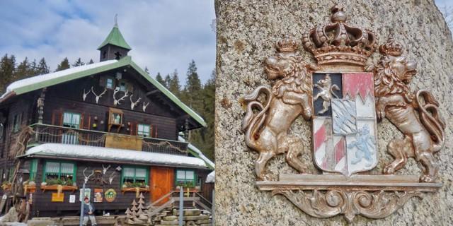 """Das """"Schwellhäusl"""" zwischen Zwieslerwaldhaus und Bayrisch Eisenstein ist ein beliebtes rustikales Ausflugslokal. Foto: Joachim Chwaszcza"""