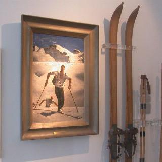 Die Dauerausstellung widmet sich verschiedenen Bereichen des Bergsports. Foto: DAV/Alpines Museum