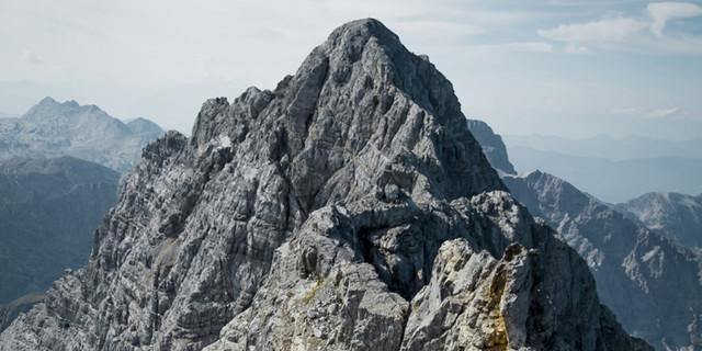 Klassisches Bergsteigergelände für Erfahrene