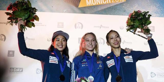 Impressionen: Boulderweltcup München 2018